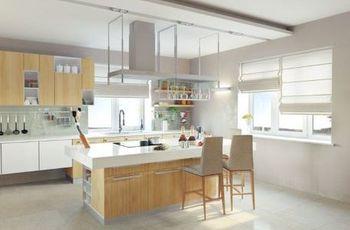 Come abbellire le finestre di una cucina moderna ?