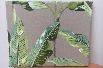 Come realissare un quadro utilizzando scampoli di tessuto ?