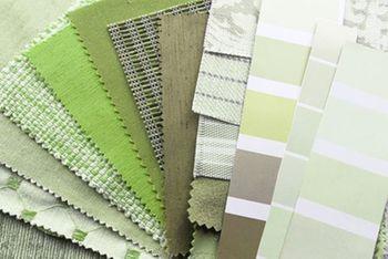 Scegliere le tende verdi: per stanze fresche e serene!