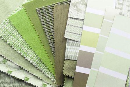 Scegliere le tende verdi