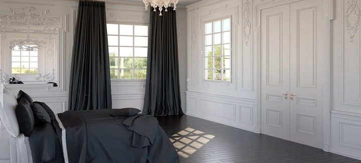 Rideaux Velours ambiance Baroque