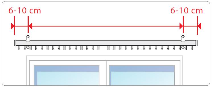 Montaggio Binario Tende A Soffitto.Come Montare Un Bastone Con Binario