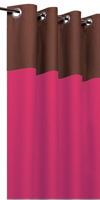 Tende filtranti bicolori - Testa cioccolato